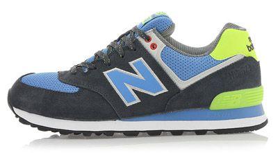 Zapatos 2013 contra la compra de los nuevos hombres del Saldo de auténticos zapatos de las mujeres ML574 par de zapatos para correr en verano