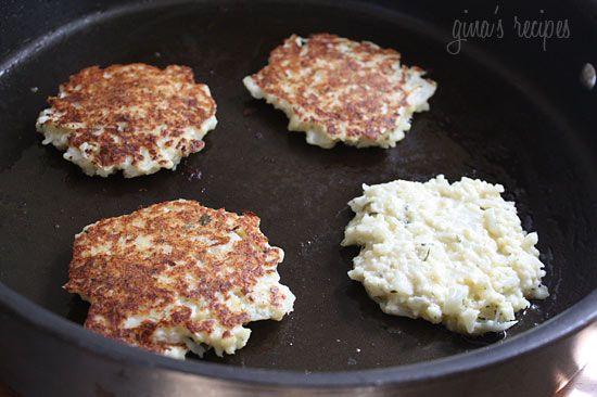 Cauliflower Fritters | Skinnytaste