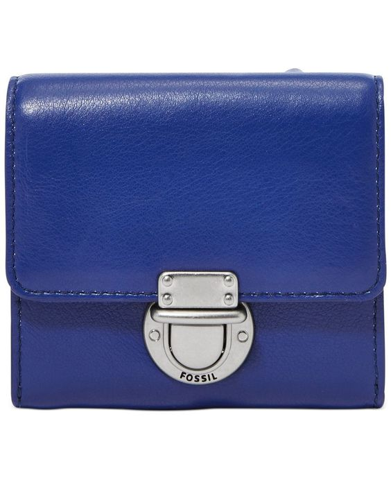 Fossil Riley Leather Small Flap Wallet