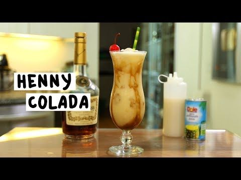Henny Colada Tipsy Bartender Recipe Henny Colada Colada Alcohol Drink Recipes