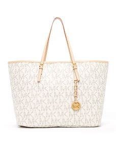 MICHAEL Michael Kors  Jet Set Logo Medium Travel Tote.  Maybe for Christmas :) HINT HINT MOM