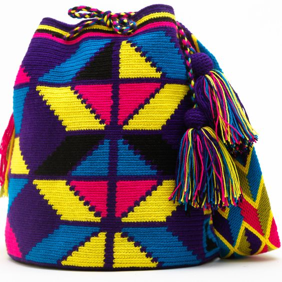 Limited Edition Cabo Wayuu Mochila Bag: