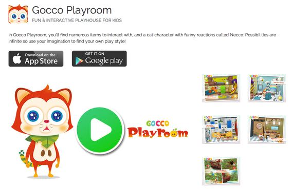 Do you like cute cats? Do you have kids? Check our latest, certified by Moms With Apps, Kids app Gocco Playroom! It develops empathy, curiosity and imagination! :) https://itunes.apple.com/us/app/gocco-playroom-fun-interactive/id894923576?l=fr&ls=1&mt=8
