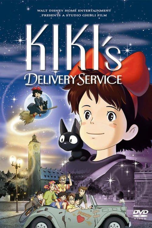 Watch Kiki S Delivery Service 1989 Full Movie Online Free Kiki S Delivery Service Kiki Delivery Anime Films