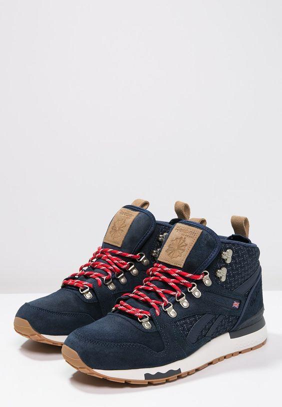 Sneakers hoog Reebok Classic GL 6000 MID - Sneakers hoog - collegiate royal/chalk Donkerblauw: € 124,95