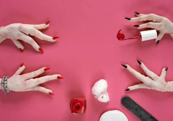 Cold Feet by Davide Luciano, via Behance