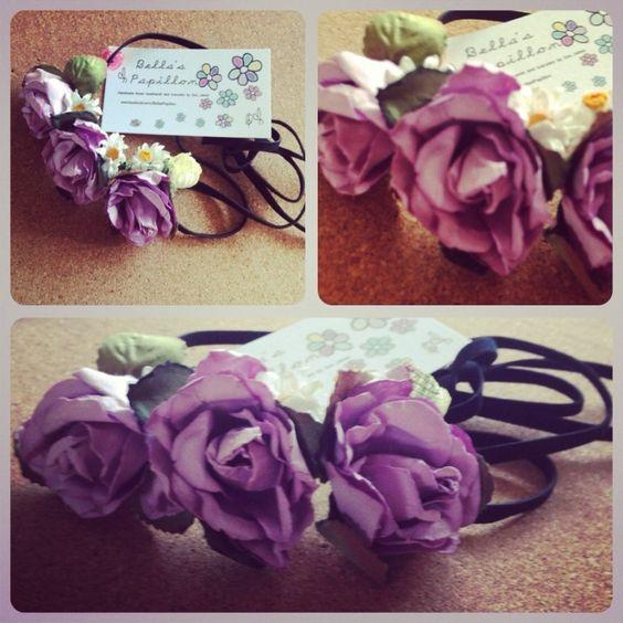 Festival Flower Headband £3.50