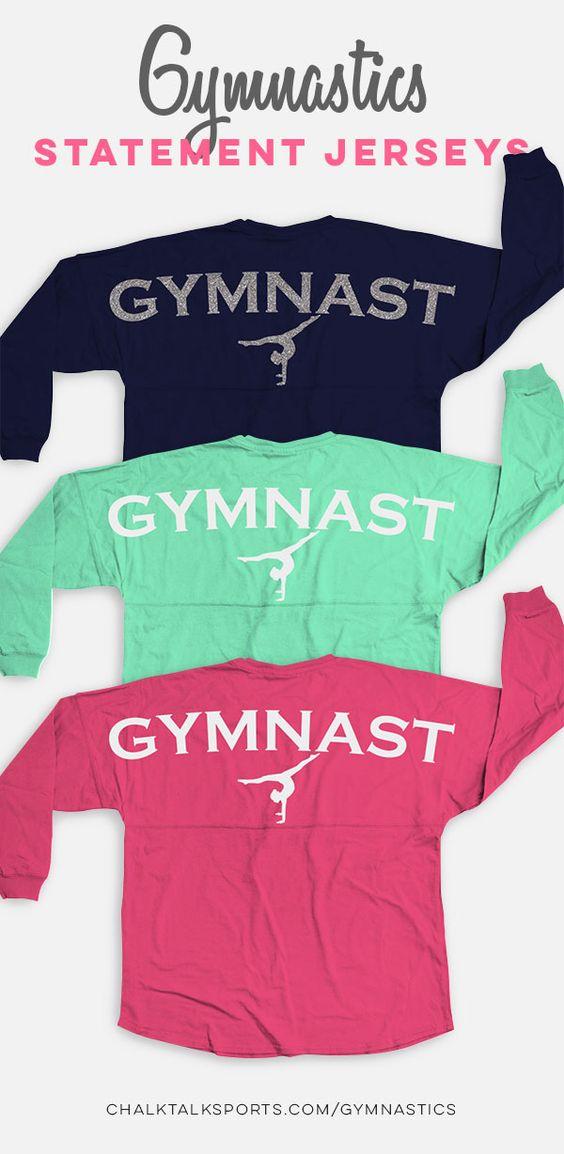 Gymnastics Statement Jersey Shirt Gymnast GM-00014