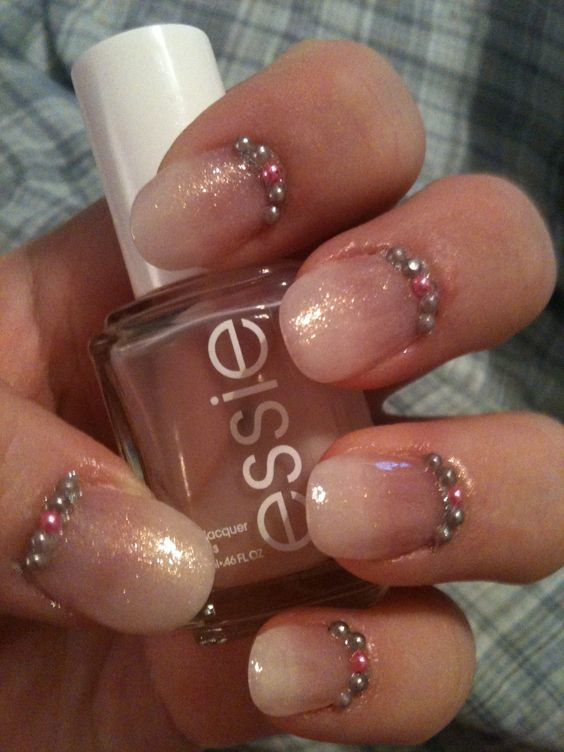 Sparkle sheen. Used Essie's sugar daddy as my base.