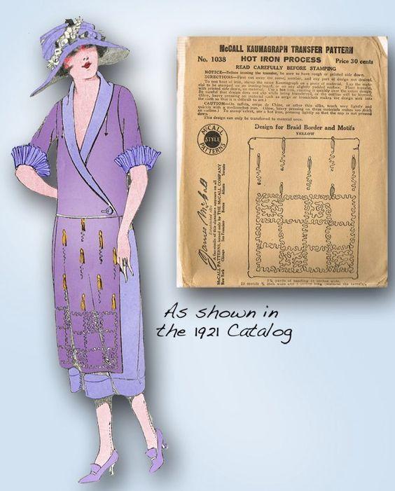 1920s Original High Fashion Clothing Trim Transfer for Soutache Braiding | eBay: Clothing Trim, Doll Clothes, Fashion Clothing, Clothes Patterns, High, Vintage4Me2 Original, Braiding Ebay
