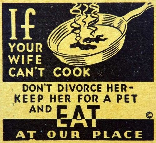 Keep her for a pet & eat out. :)