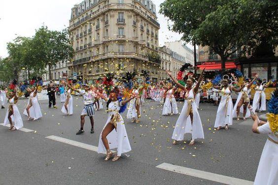 Le carnaval tropical (Paris) en images - Toute l'actualité de la Martinique en photos