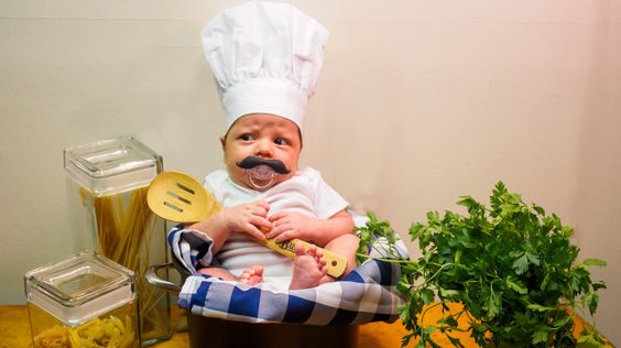 These baby names are fresh from the kitchen