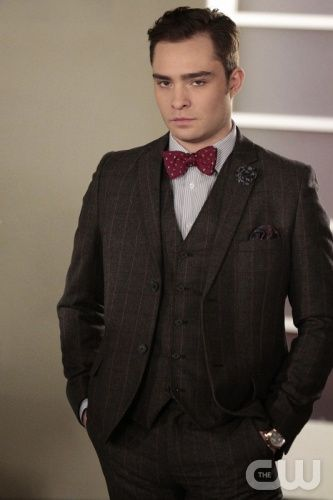 "GOSSIP GIRL-- ""It's Really Complicated"" --  image GO608B_0263 Pictured: Ed Westwick as Chuck Bass - Photo: Giovanni Rufino/The CW -- © 2012 The CW Network. All Rights Reserved."