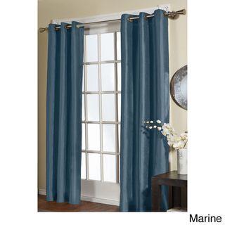 ATI Home Jaclyn Love Faux Silk 84-inch Curtain Panel Pair by ATI ...