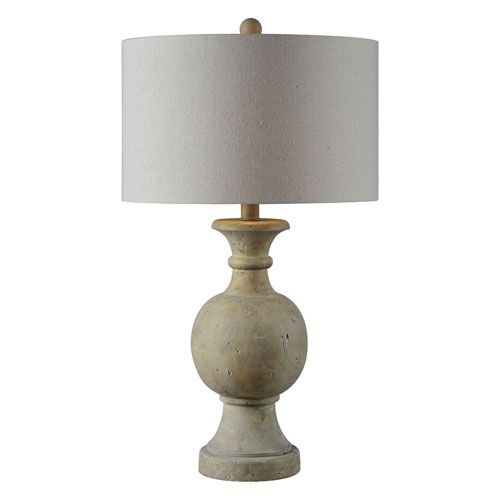 Ellis Faux Stone One Light Table Lamp Table Lamp Lamp Country Table Lamp