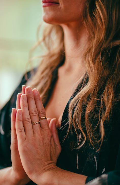 Namaste Meditation symbol