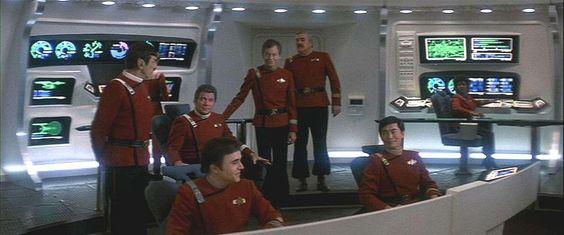 The crew of the USS Enterprise