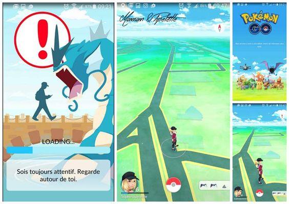 Test du phénomène Pokemon Go attrapez les tous !
