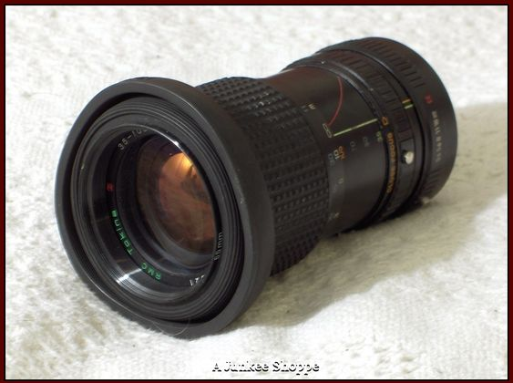 RMC TOKINA 35-105mm K Connection 1:3.5 - 4.3 Camera Lens 1980's Photography Used   HP 2578  http://ajunkeeshoppe.blogspot.com/