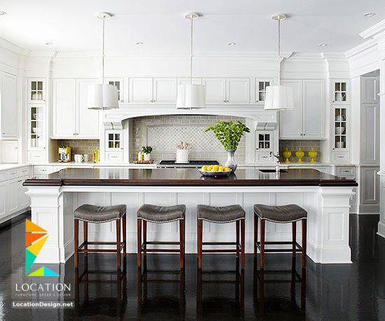 احدث تصاميم وموديلات مطابخ مودرن 2018 2019 لوكشين ديزين نت Home Kitchens Kitchen Design Kitchen Remodel