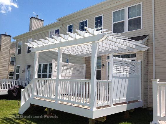 Great ideas to choose from for your deck or porch. Pictures of DrySnap, deck…