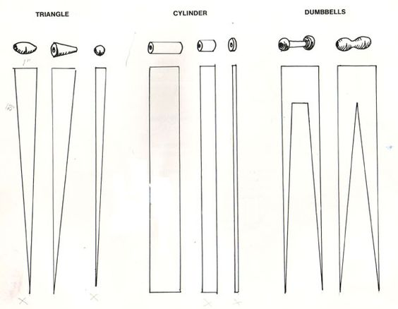Page 2 of paper bead templates  http://butikofer.com/blog/2009/03/11/making-paper-beads/