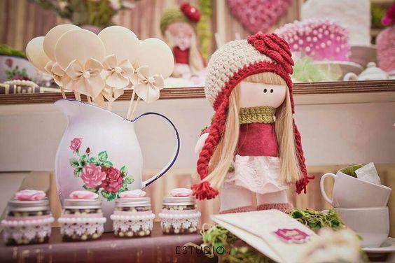 Chá de boneca!!!
