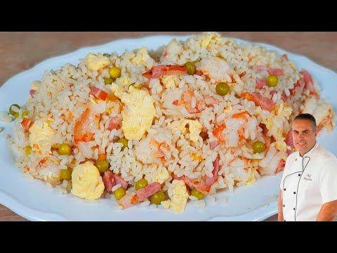 Arroz Tres Delicias Receta Paso A Paso Del Arroz Mas Famoso Del Restaurante Chino Con Arroz No Recetas De Comida Arroz Tres Delicias Recetas De Comida Fáciles