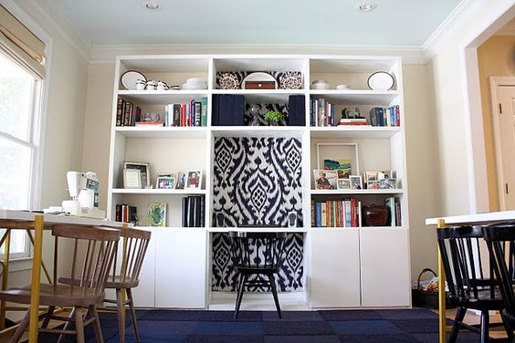 The most amazing DIY bookcase project. I'm in awe.