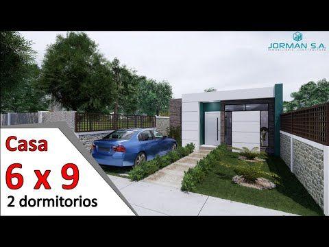 Modelos De Casas Pequeñas Y Bonitas Casa 6x9 Metros Youtube Casas Pequeñas Bonitas Modelo De Casas Pequeñas Casas Pequeñas