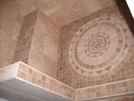 Unique tile floor designs design lovely home interior for Unique bathroom tile designs