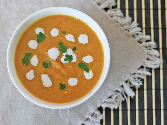 Carrot Ginger Soup | Paleo Diet | Pinterest | Carrot Ginger Soup ...