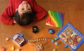 Hanukkah Activities from Clever Toddler Activities