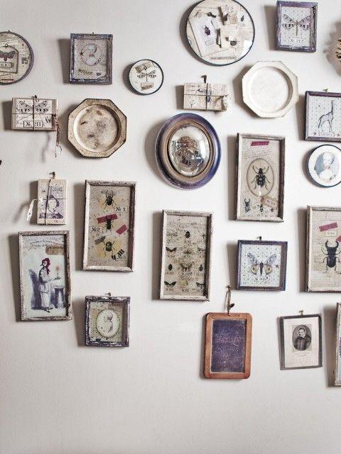 decoration mur vintage