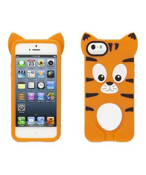 Another great find on #zulily! Orange Tiger Case for iPhone 5/5s by Griffin #zulilyfinds