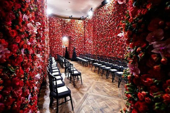 Muro de flores,
