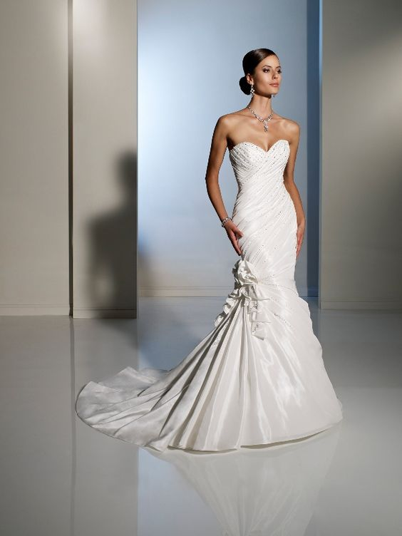Sophie S Squishy Collection : View Dress - Sophia Tolli SPRING 2012 Collection - Y11222 Guadalupe - Taffeta; corset back only ...