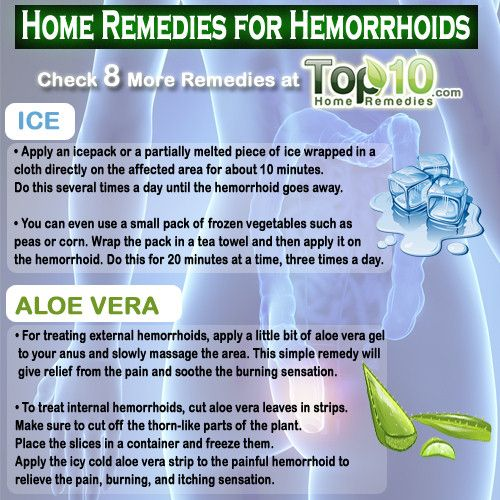 How To Shrink Hemorrhoids Naturally At Home