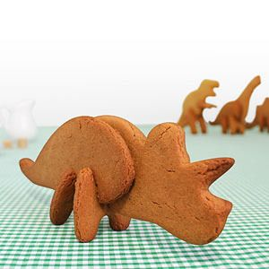 "Bring Jurassic Park to life with this set of cutters for Triceratops! Final cookie is about 7"" inches tall. Made from food grade, BPA free plastic. Contact me if you have any questions, want to inquire about lesser or greater quantities, or even to make a suggestion as to what you would like to see for sale. Please also take a look around my shop for more kitchen, party, or special event supplies that may interest you. Thank you for looking!All domestic Shipping and Handling is delivered via…"