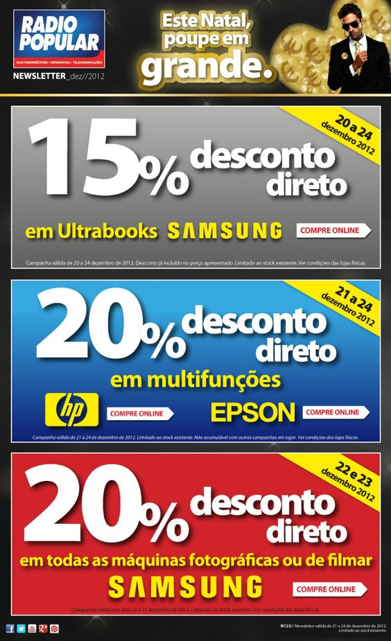 Newsletter - Neste Natal, descontos em grande.    http://www.radiopopular.pt/newsletter/2012/123/#