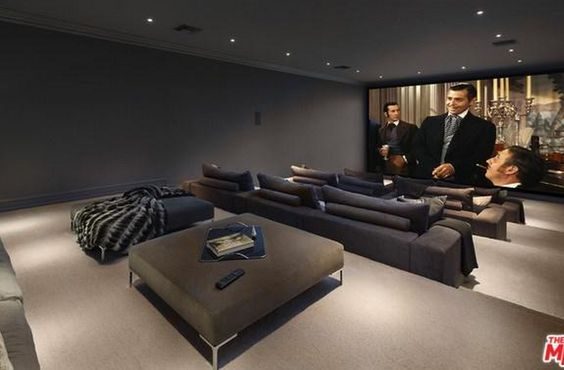 Home Theater. Something as simple as this is perfect.