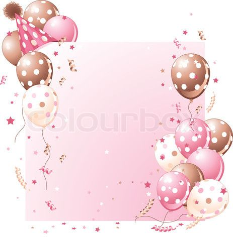 Pink birthday romantic birthday balloons balloons frames birthdays