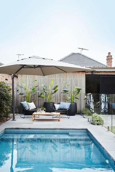 6 Top Tips For Choosing The Right Outdoor Furniture For Your Space Modern Pools Backyard Pool Swimming Pools Backyard