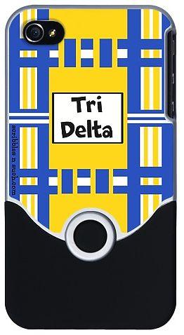 Delta Delta Delta iPhone Cover