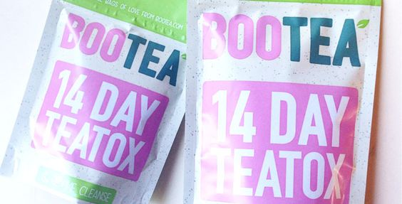 Bootea Teatox Review - I tried the 14Day teatox & loved it! I would have this tea every single day if I could! Here are the results it's definitely worth it