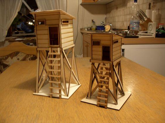 puzzle box diesmal als hochsitz als geschenk f r einen j ger bastelideen pinterest. Black Bedroom Furniture Sets. Home Design Ideas