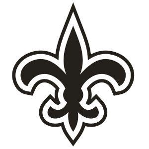 Fleur De Lis Saints Decal Clipart Best New Orleans Saints Free Stencils Stencils Printables