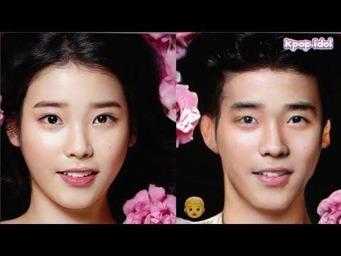 10 Female Idols Would Look Like If They Were Born Male By Faceapp Idol Kpop Idol Great Body