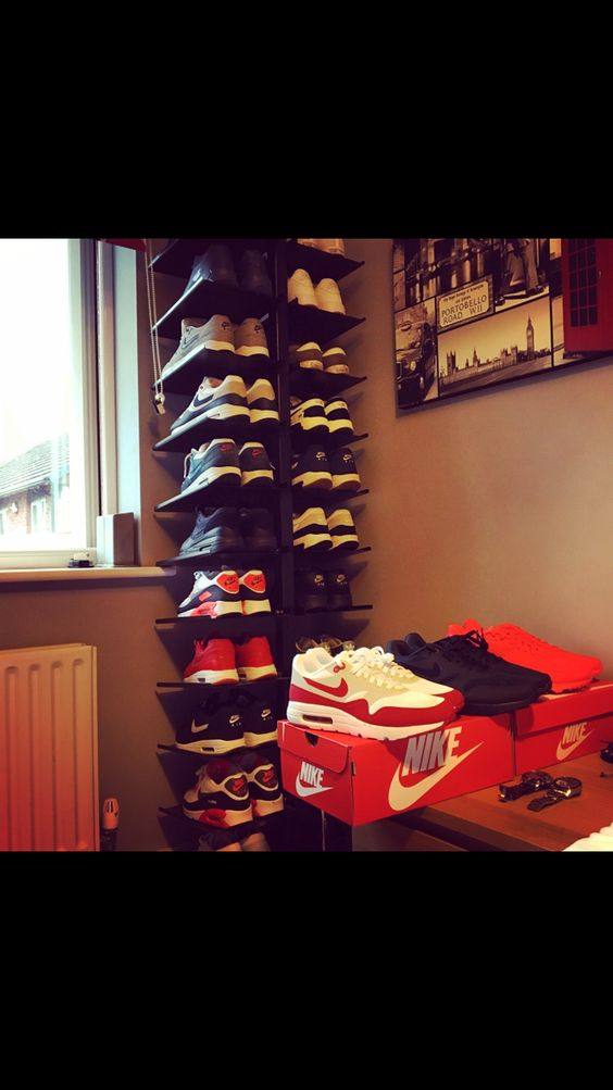 #nike #trainerstand #trainerstorage #sneekers #rack # collection
